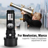 Metal 1.25inch Laser Collimator 7 Bright Levels for Newtonian Telescopes Marca