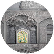 Palau - 10 Dollar 2020 - Safavid - Tiffany Art - 2 Oz Silber Antik Finish
