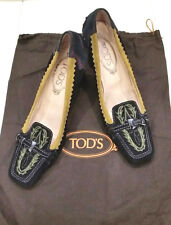 MAGNIFICENT Tods 100% Leather Pumps - Size 37
