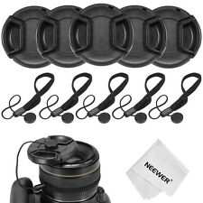 Neewer 5x 52MM Camera Lens Cap Cover Kit for NIKON D3100 D3300 D5300 DSLR Camera