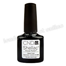 CND Shellac UV Nail Polish Choose From 116 Colours Top Xpress5 & DuraForce Base Coat 7.3ml