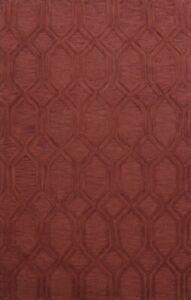 Contemporary Trellis Oriental Area Rug Hand-Tufted Wool Living Room Carpet 8x11