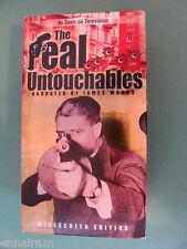 Real Untouchables 3 Vol Boxed Set VHS 2001 Eliot Ness Thomas Dewey Melvin Purvis