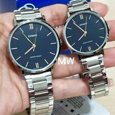 Casio Stainless Steel Watch MTP/LTP-VT01D-2 Quartz Analog Dress Lover Couple New