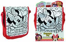 "Color me Mine Bolso Mensajero ""Minnie Mouse"" con 5 Marcador permanente Disney"