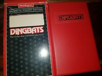DINGBATS - MAGNETIC POCKET TRAVEL EDITION BY WADDINGTONS vintage classic 1990