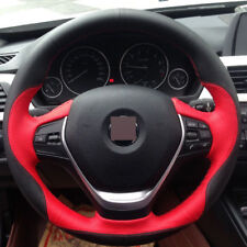 For BMW F30 320i 328i 320d Steering Wheel Cover Hand-stitched Car Interior Case