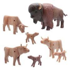 Playmobil Wilder Chalecos Oeste Granja Bisons Ganado Vacas Animales