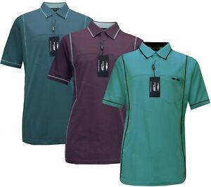 New Mens Short Sleeve Golf Polo Shirt T- shirt Top Casual M - 2XL by Tom Hagan