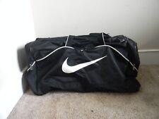 "Nike 26"" Black   White Duffle Bag wShoulder Strap 29c1211ae19bd"
