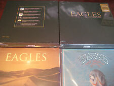 THE EAGLES 1ST EDITION 180 Gram NUMBERED BOX  + HITS 71-75 & LONG ROAD OUT EDEN