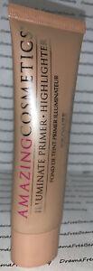 Amazing Cosmetics Illuminate Glow Primer Highlighter *BRONZE* 1.7 fl.oz./50ml.