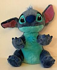 """Disney Store Stitch as Dog Plush Large 14"""" Lilo & Stitch Blue Stuffed Animal Toy"""