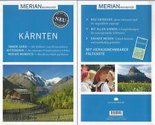 Kärnten - NEU - Merian momente - Mit Extra-Karte zum Herausnehmen