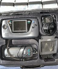 Sega Game Gear Handheld Console With Games Case And Battery Pack - Parts/Repair