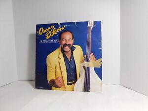 """Oscar D'León – La Salsa Soy Yo 12"""" LP 1987 Salsa"""