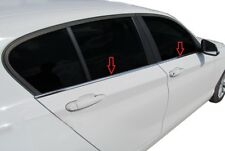 2011up BMW serie 1 F20 F21 CROMO finestre TELAIO Trim 4pcs S. Steel
