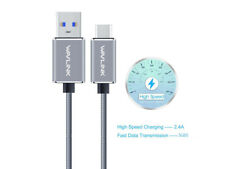 USBC Cable,USB3.1 TypeC Male to USB3.0 Male Cable,Charge&Data Sync Nylon Braided