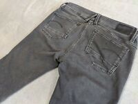 G-STAR RAW DENIM LYNN CUSTOM MID SKINNY DAMEN JEANS GRAU GR. W29 L32