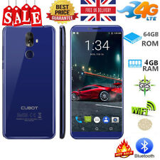 """5.99"""" Cubot X18 Plus Blue 4GB+64GB 4G Android 8.0 OctaCore 2*SIM 16MP SmartPhone"""