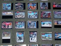 STAR WARS 96 x LOT,SET,DISPLAY CARDS OF VINTAGE TOYS,SHIPS,VEHICLES + FIGURES.14