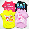 Pet Dog Cat Cute Patterned Casual Vest Puppy Sleeveless T-Shirt Clothes Apparel