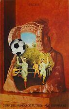 ELCHE ESPAGNE Jiri KOLAR Affiche Litho Coupe du Monde de Football -1982 MAEGHT