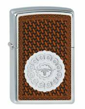 Lighter Zippo Steer Leather