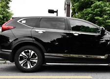 6pcs Chrome Body Side Door Molding Protector Trim For Honda CR-V CRV 2017 2018