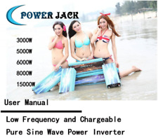 User Manual For Low Frequency and Chargeable Pure Sine Wave Power Inverter