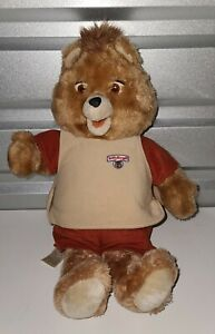 Vintage TEDDY RUXPIN Worlds of Wonder Bear 1985 Partially Working