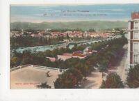 Pau Jurancon Vu du Boulevard Des Pyrenees Vintage Postcard France 522a