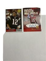 Tom Brady Patrick Mahomes 2 Card Lot These Cards Are $$ Hot $$