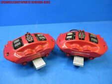 2008-2010 PORSCHE CAYENNE 957 TURBO GTS REAR BREMBO BRAKE CALIPER PAIR OEM RED
