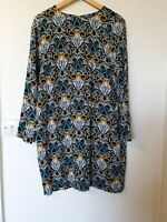 H&M Abstract Relaxed Fit Oversized Boxy Dress Size 12 (40)
