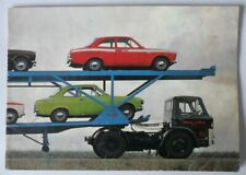 FORD ESCORT MEXICO & RS1600 orig 1972 UK Mkt Sales Brochure - AVO RS