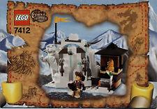Lego Adventurers # 7412 Yeti´s Hideout - Bauanleitung (keine Steine!)