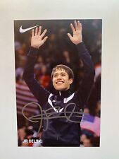 JR J.R. Celski Autographed Signed Photo Olympic Speed Skating 4x6 Nike