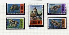 ZAMBIA   MH   94-98   Fossils   XX954