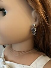 Owl Earring Dangles for 18 Inch Doll American Girl Jewelry