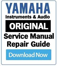 Yamaha DGX-300 Keyboard Service Manual and Repair Guide