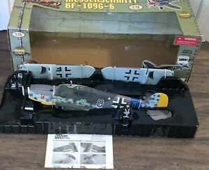 The Ultimate Soldier XD Messerschmitt Bf-109G-6 1/18 scale German Plane READ