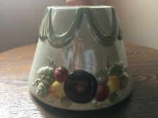 ******* YANKEE CANDLE FRUIT FROSTED CERAMIC JAR CANDLE TOPPER -BRAND NEW *******