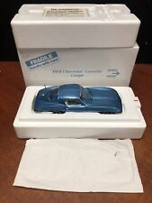 1/24 Danbury Mint 1965 Corvette Coupe Blue EM3291