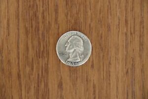 1/4 Quarter Dollar USA 1956 George Washington Silber