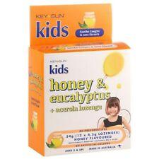 Key Sun Kids Honey & Eucalyptus + Vitamin C 12 Lozenges Immune System Function