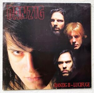 DANZIG . II LP  1.Press 1990 Misfits Samhain Metallica Slayer Guns N' Roses PUNK