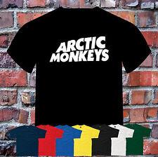 Artic Monkeys Logo T-Shirt Colour ,Size and Print Colour Choice