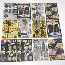 STAR Wars pocketmodels 24 modelli di 12 integro CARDS (Voice of Industry)