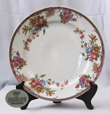 Dinner Plate Mitterteich China Pattern 527 Blue Band w/ Floral & Gold